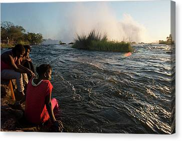 Zambia Canvas Print by Sergi Reboredo