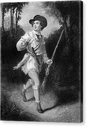 Colonial Man Canvas Print - 1700s 1770s A Morgans Rifleman Wearing by Vintage Images