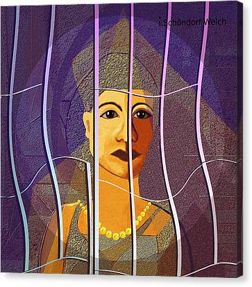 173 - Outlook Canvas Print by Irmgard Schoendorf Welch