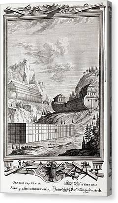 1731 Designs Of Noah's Ark Canvas Print