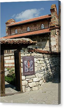 Bulgaria, Nessebur (aka Nessebar Or Canvas Print by Cindy Miller Hopkins