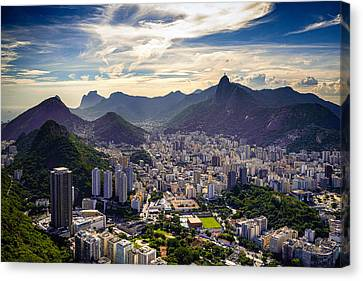 Cityscape Canvas Print by Celso Diniz