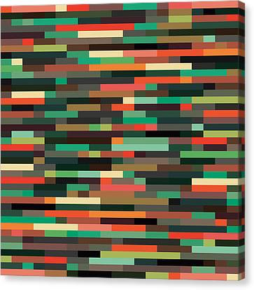 Geometric Canvas Print by Mike Taylor