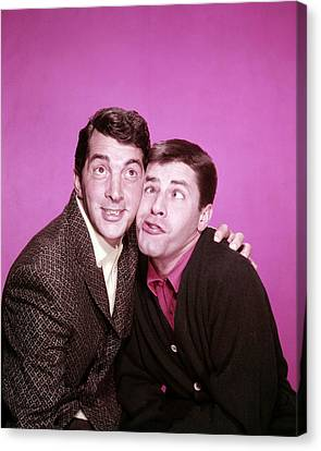 Jerry Lewis Canvas Print