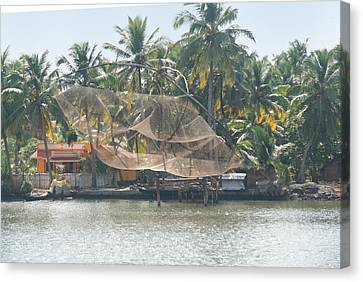 Kerala Backwater Canvas Print