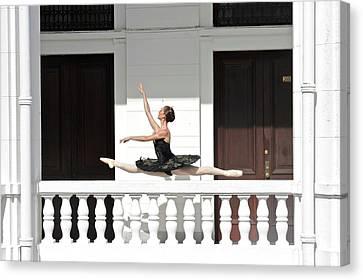 National Ballet Of Panama Canvas Print by Kike Calvo
