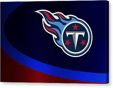 Tennessee Titans Canvas Print by Joe Hamilton