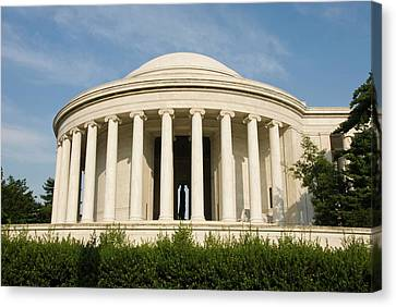 Founding Fathers Canvas Print - Washington Dc, Usa by Lee Foster