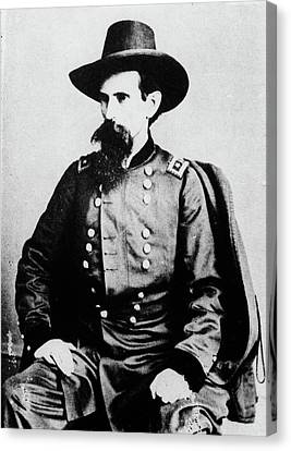 Half-length Canvas Print - 1800s 1860s General Lewis Lew Wallace by Vintage Images