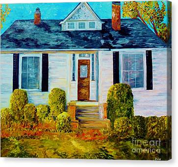 The South Canvas Print - 1870 by Eloise Schneider