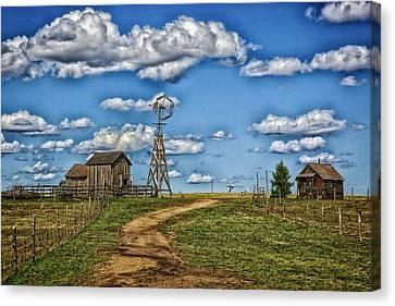 1880s Town Murdo South Dakota Canvas Print by Mountain Dreams