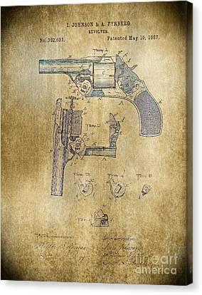 1887 Revolver Canvas Print by Steven Parker