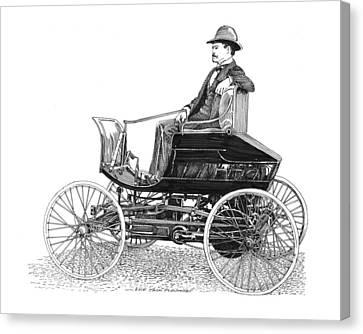 1894 Haynes Pioneer 1 Canvas Print by Jack Pumphrey