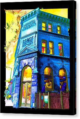 18th And Canal Canvas Print