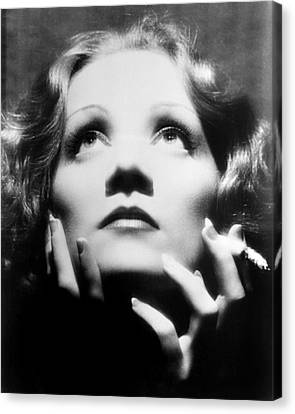 Greta Garbo Canvas Print by Silver Screen