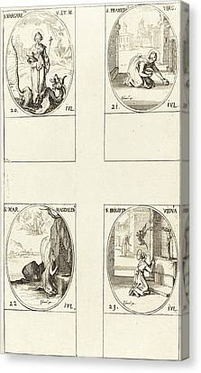 Jacques Callot French, 1592 - 1635 Canvas Print by Quint Lox
