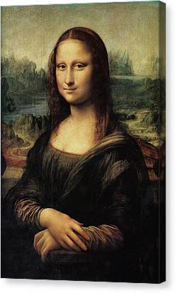 Mona Lisa Canvas Print by Celestial Images