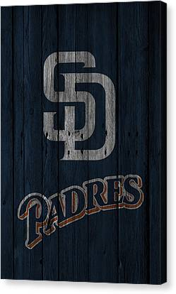 San Diego Padres Canvas Print by Joe Hamilton