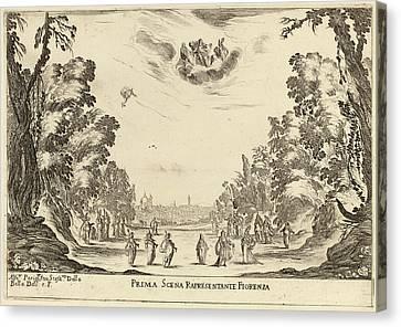 Stefano Della Bella Italian, 1610 - 1664 Canvas Print