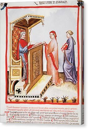 Tacuinum Sanitatis, Medieval Health Canvas Print