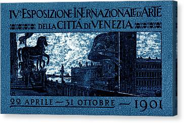 1901 Venice International Arts Exposition Canvas Print by Historic Image
