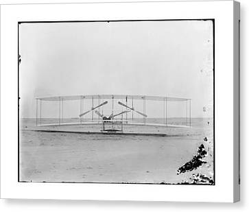 1902 Wright Brothers Airplane Canvas Print