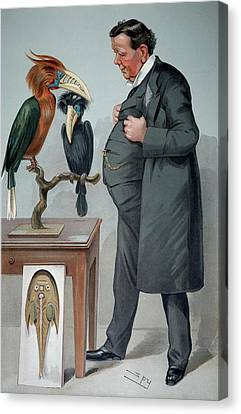 1905 Edwin Ray Lankester Zoologist Canvas Print