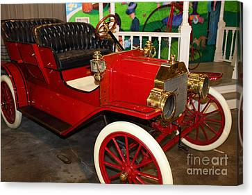 1908 Ford Model T Touring 5d25560 Canvas Print by Wingsdomain Art and Photography
