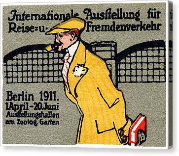 1911 Berlin International Travel Expo Canvas Print by Historic Image