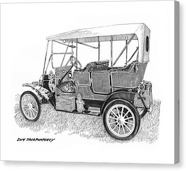1911 Maxwell A B Canvas Print by Jack Pumphrey