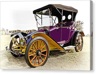 1913 Argo Electric Model B Roadster Canvas Print by Marcia Colelli
