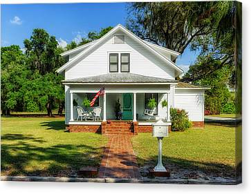 1914 Central Florida Home Canvas Print