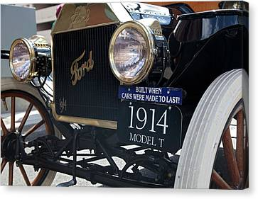1914 Ford Model T Canvas Print by Jim West