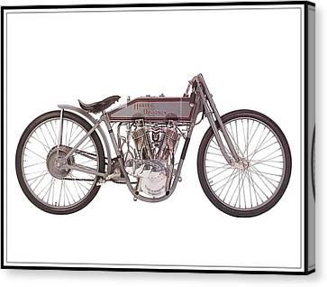 1915 Harley-davidson 11-k Canvas Print