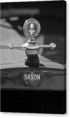 1915 Saxon Roadster Hood Ornament 2 Canvas Print by Jill Reger