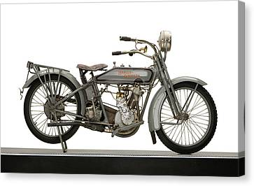 1916 Harley Davidson Model 16 5-35 Canvas Print