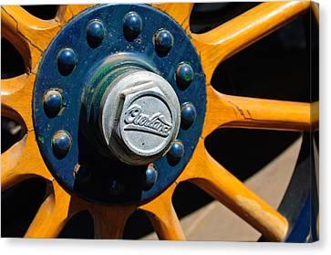 1916 Willys Overland Model 86 Wheel Emblem Canvas Print