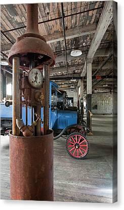 1918 Gasoline Pump Canvas Print by Jim West