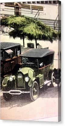 1920's Automobiles Canvas Print