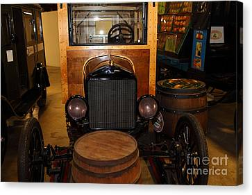 1921 Ford Model T Snowmobile 5d25582 Canvas Print by Wingsdomain Art and Photography