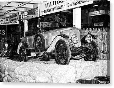 Canvas Print featuring the photograph 1921 Vauxhall 30/98e by Boris Mordukhayev