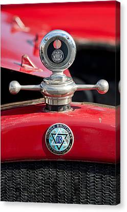 Motometer Canvas Print - 1923 Dodge Brothers Hood Ornament by Jill Reger