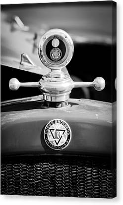 Motometer Canvas Print - 1923 Dodge Brothers Motometer - Hood Ornament - Emblem by Jill Reger