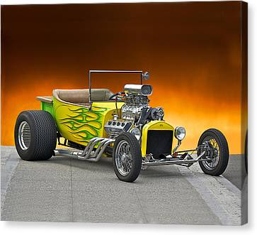 1923 Ford Bucket T Pick Up Canvas Print by Dave Koontz