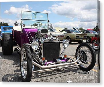 1923 Ford Model T Convertible Roadster Canvas Print by John Telfer