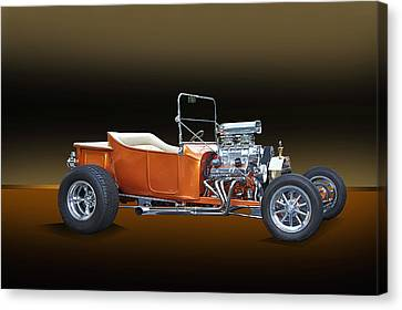 1923 Ford Model T Roadster Canvas Print by Dave Koontz