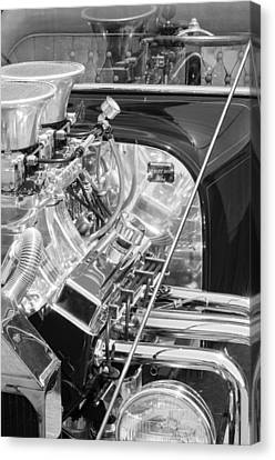 1923 Ford T-bucket Engine 2 Canvas Print by Jill Reger