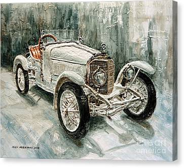 1923 Mercedes Ps Sport- Zweisitzer Canvas Print by Joey Agbayani