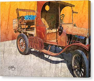 1925 Ford Truck Canvas Print by Larry Bishop