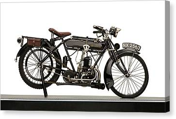 1925 New Hudson 247cc Lightweight Canvas Print by Panoramic Images